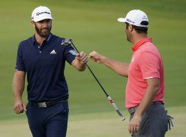 Dustin Johnson and Jon Rahm are the favorites for the Tour Championship, but there are plenty of prop bets to wager on. (Image: Getty)