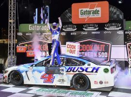 Kevin Harvick won the Cook Out Southern 500 on Sunday, and is one of the favorites for Saturday's Federated Auto Parts 400 at Richmond Raceway. (Image: Getty)