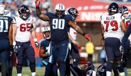 Tennessee Titan nose tackle DaQuan Jones was one of three NFL players that tested positive for coronavirus after Sunday's games. (Image: Getty)