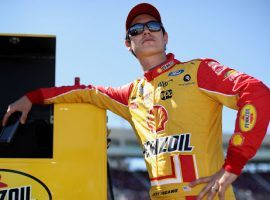 Joey Logano is one of three favorites to win the South Point 400 at Las Vegas Motor Speedway. (Image: Getty)