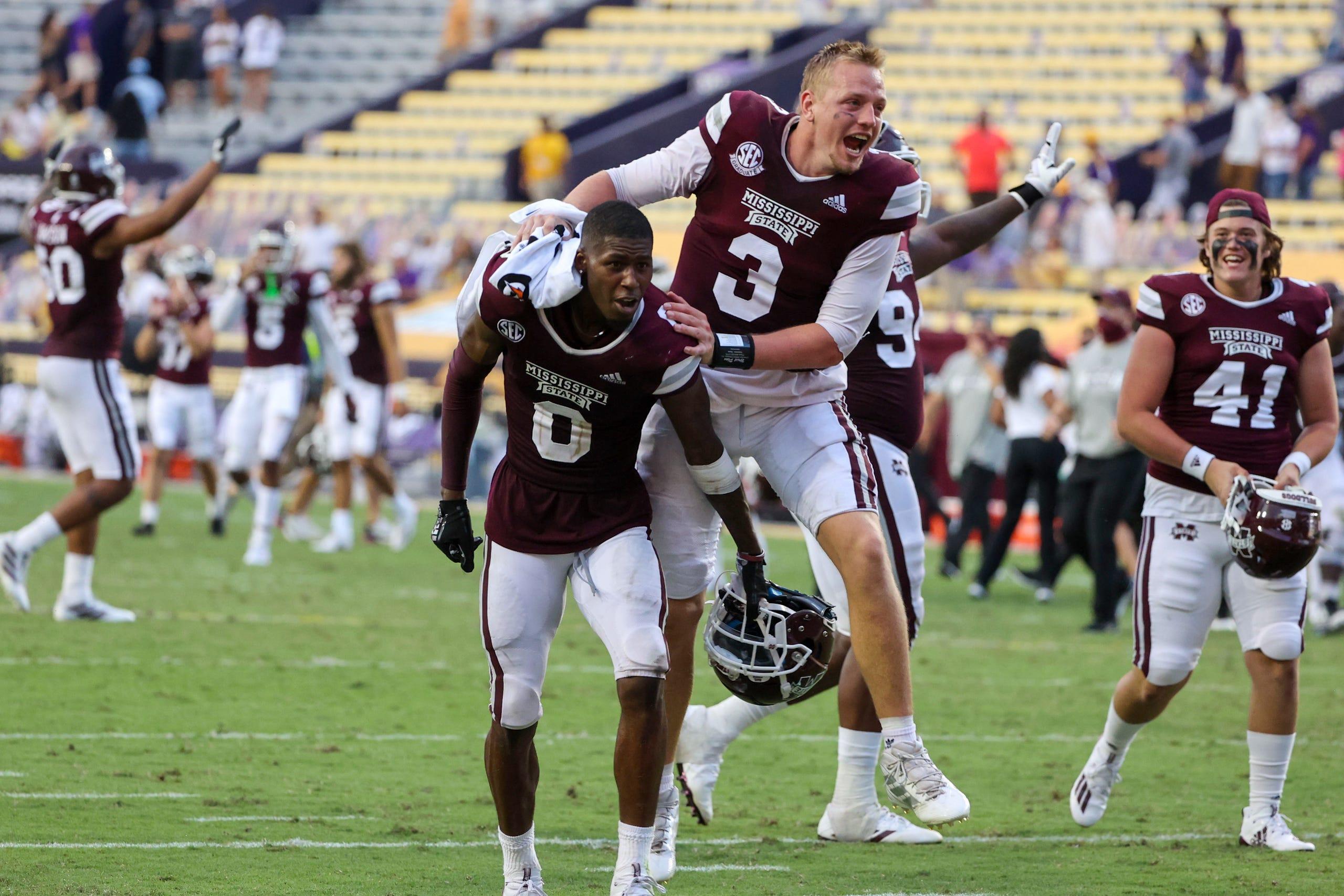 Mississippi State LSU SEC College Football Week 4