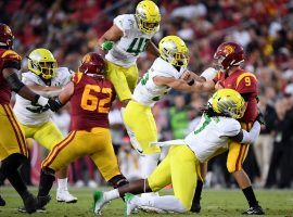 Oregon and USC will play football again after the Pac-12 Conference approved the return of the sport beginning Nov. 6. (Image: Getty)