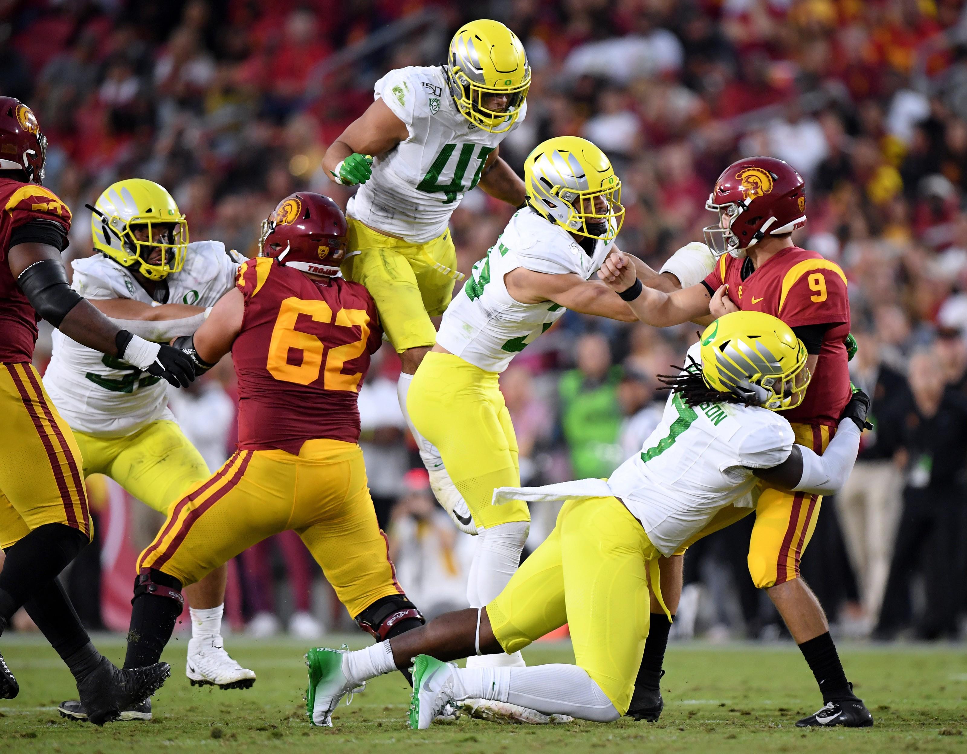 Sepak bola Oregon USC Pac-12