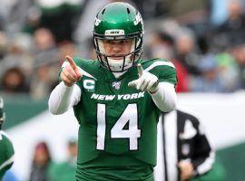 Will New York Jets quarterback Sam Darnold lead the NFL in interceptions this season? (Image: Getty)