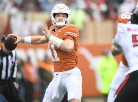 Texas quarterback Sam Ehlinger will lead the Longhorns against UTEP on Saturday in the Week 2 of the college football season. (Image: Texassports.com)