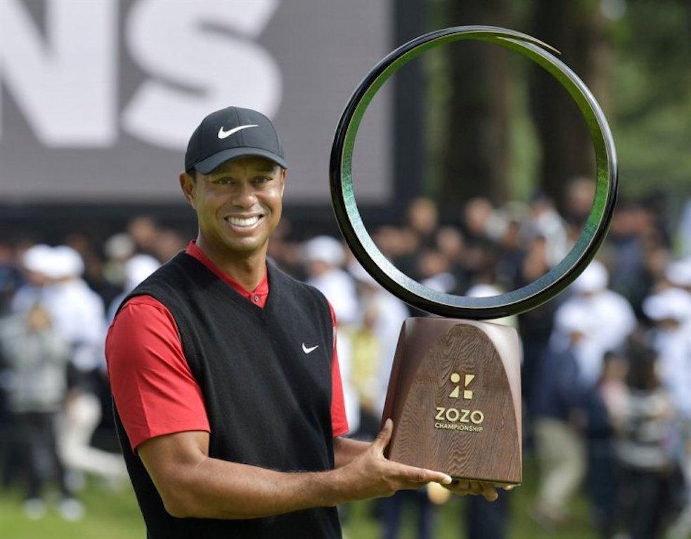 Tiger Woods Zozo Championship PGA Tour Asian tournaments