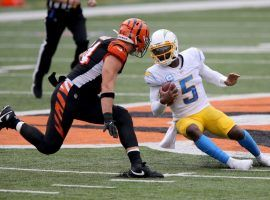 A Los Angeles Chargers team doctor mistakenly punctured one of quarterback Tyrod Taylor's lungs after an injection on Sunday. (Image: Getty)
