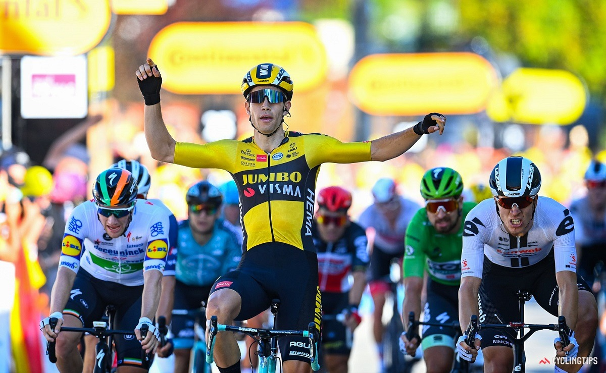 Wout Van Aert Tour de France Le Tour Stage 5 Privas