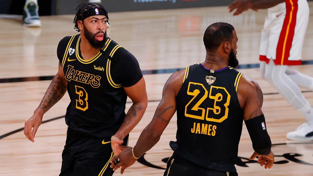 LA Lakers Miami Heat NBA Finals Anthony Davis Lebron Davis