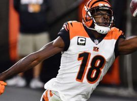 AJ Green has finally started getting lots of targets the past two weeks, but his Week 8 salary remains cheap. (Image: MSN)