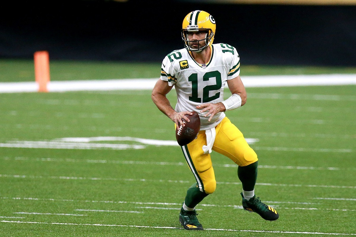 NFL Week 6 Aaron Rodgers Green Bay Packers