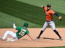 The Oakland A's are out for vengeance against the Houston Astros in the ALDS. (Image: Cody Glenn/USA Today Sports)