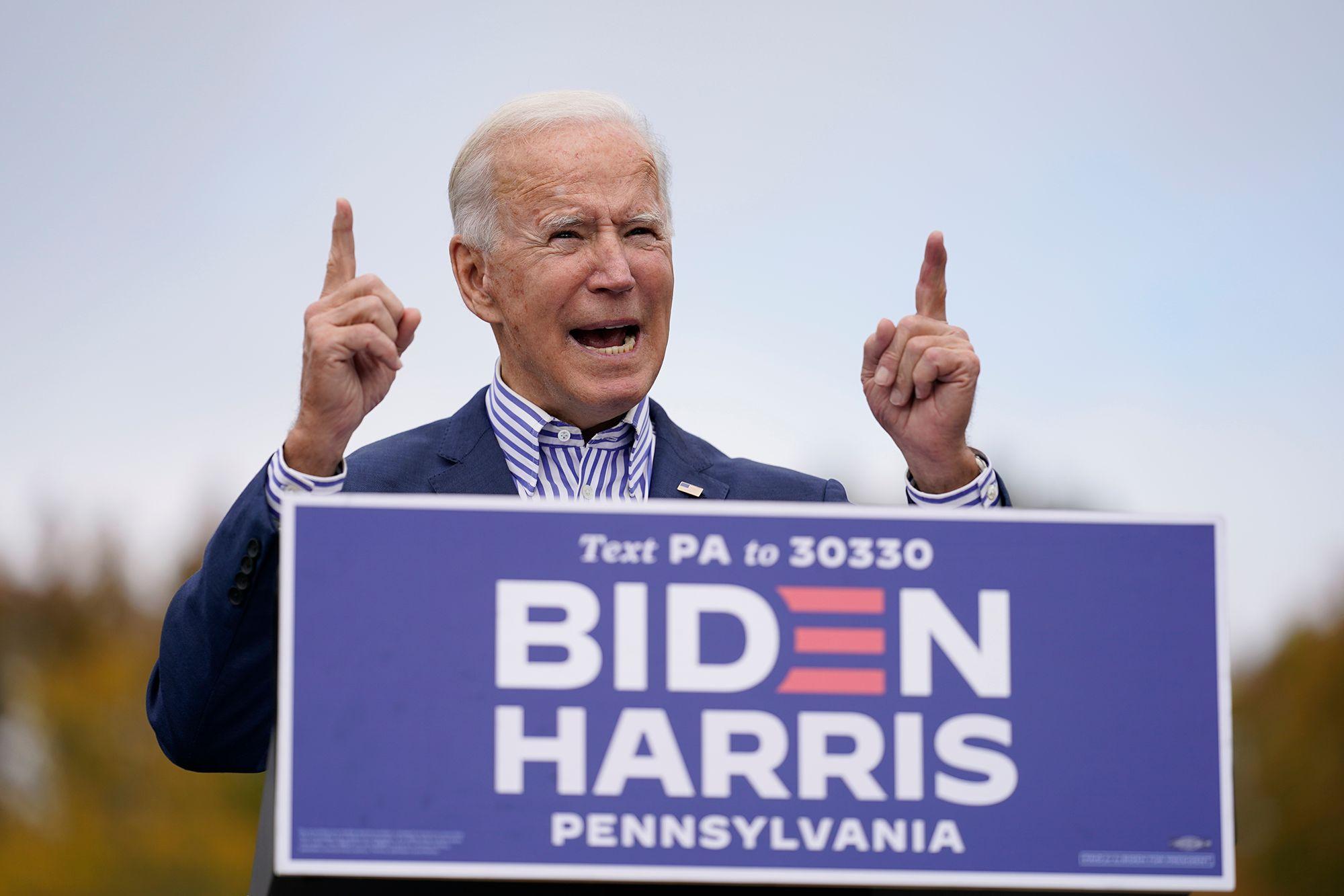 Pemilihan Pennsylvania mengalahkan Trump Biden