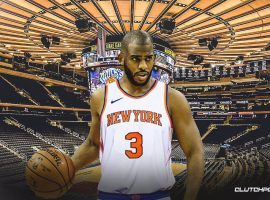 Can future Hall of Fame point guard Chris Paul turn around the Knicks? (Image: Clutch Points)