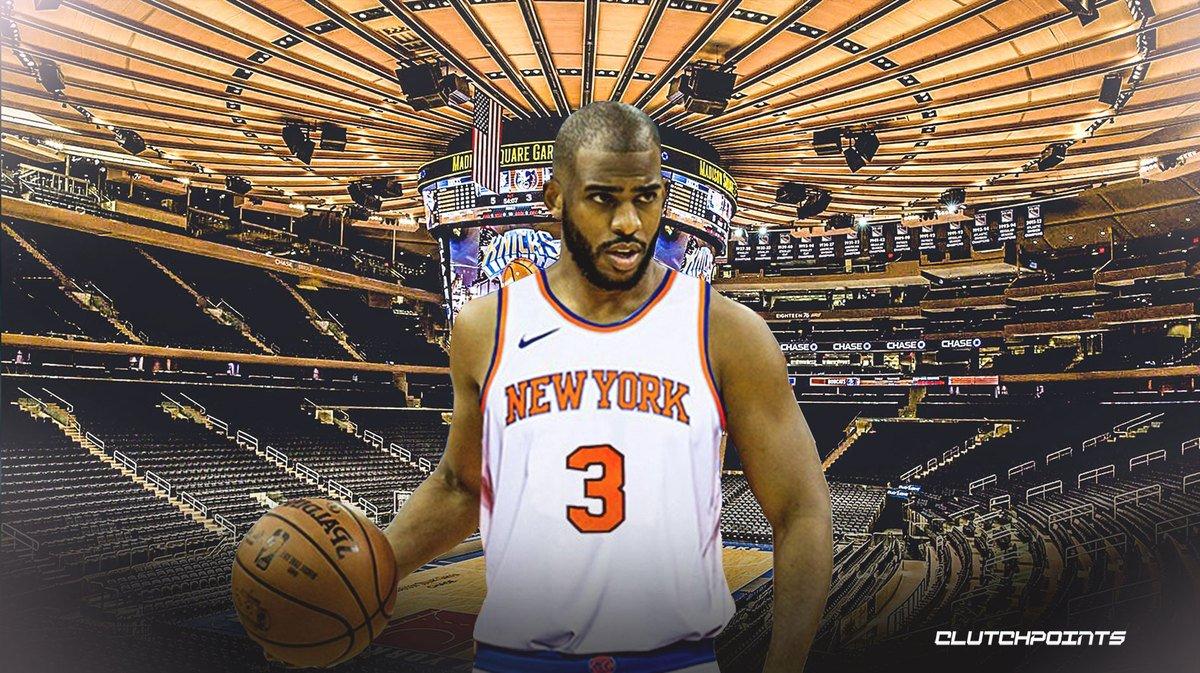 OKC Thunder Trade Chris Paul Knicks Rumor