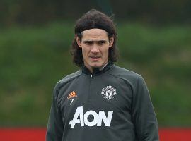 Edinson Cavani won't make the trip with his Manchester United teammates as they travel to take on his former club, Paris Saint-Germain, in the Champions League. (Image: Getty)