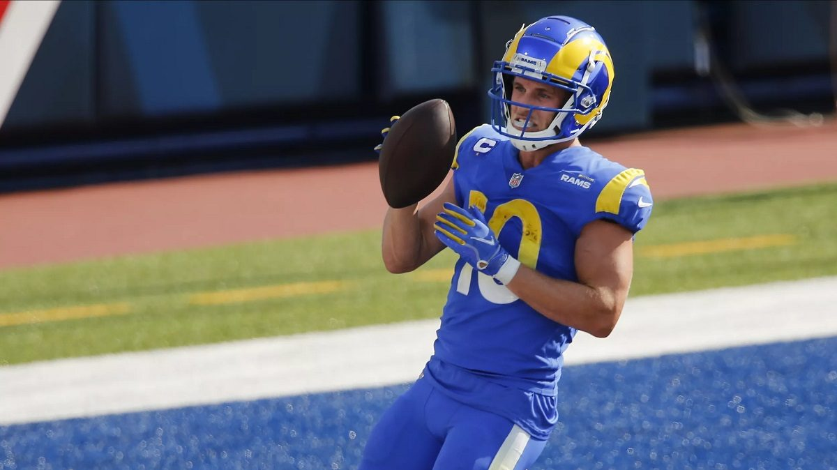 Cooper Kupp LA Rams San Francisco 49ers Niners SNF Sunday Night Football