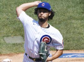 Yu Darvish will start on Friday for the Chicago Cubs, who need a win over the Miami Marlins to keep their season alive. (Image: David Banks/USA Today Sports)