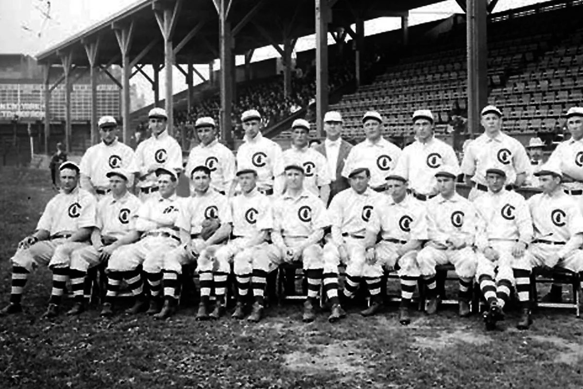 1908 Chicago Cubs World Series