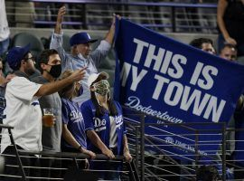 The public has been firmly behind the Los Angeles Dodgers all season long, leaving sportsbooks to root for the Tampa Bay Rays in the World Series. (Image: Eric Gay/AP)