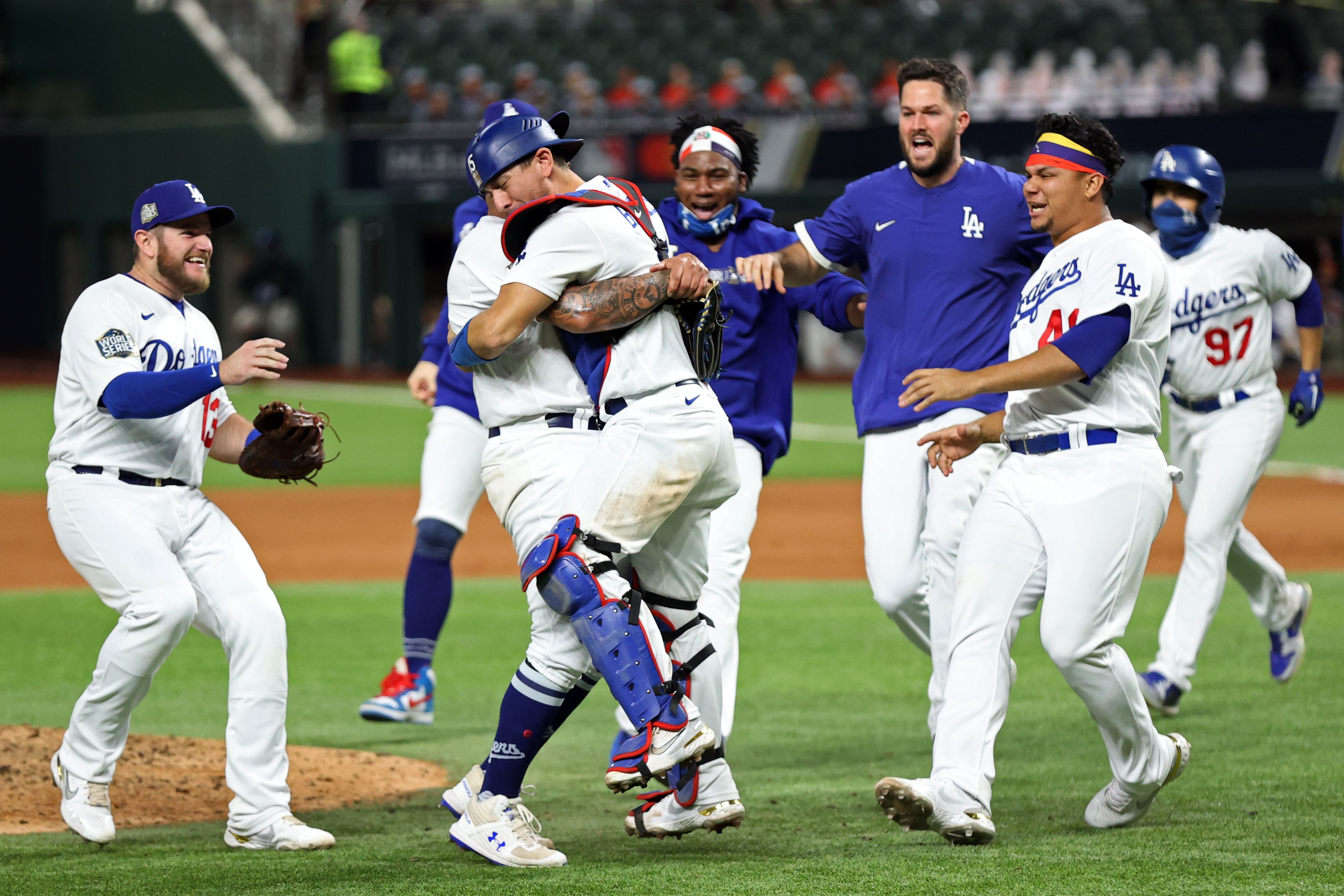 Dodgers World Series Win