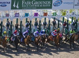 Fair Grounds offers 51 stakes races on its 76-day winter/spring card. (Image: Eclipse Sportswire)