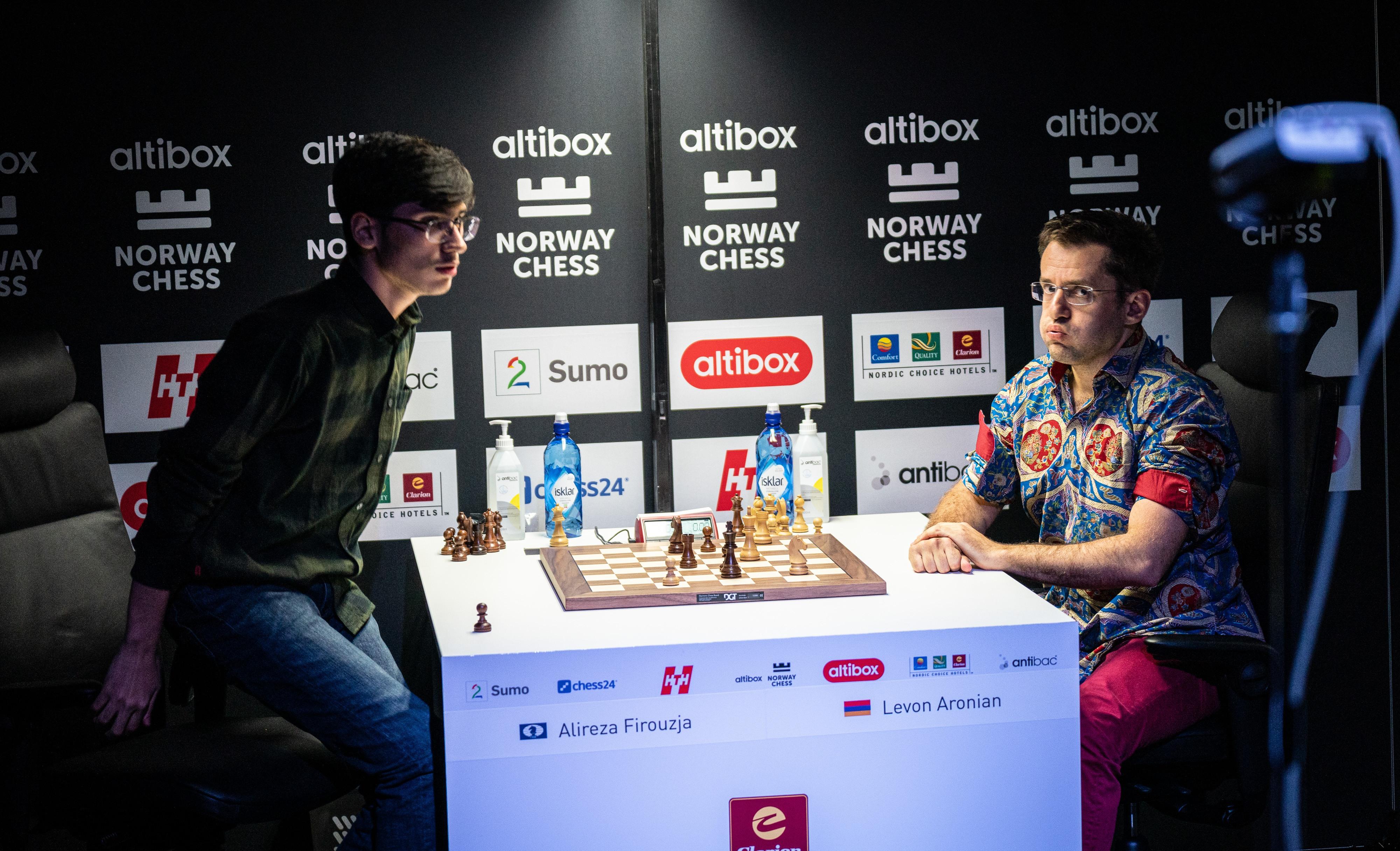 Norway Chess odds Firouzja Carlsen