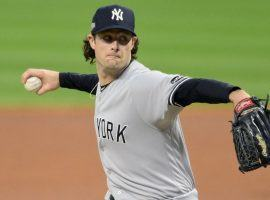 Gerrit Cole will try to lead the Yankees to the ALCS when he takes the hill for Game 5 against the Tampa Bay Rays on Friday. (Image: David Richard/USA Today Sports)