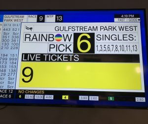 Gulfstream Park West Rainbow 6