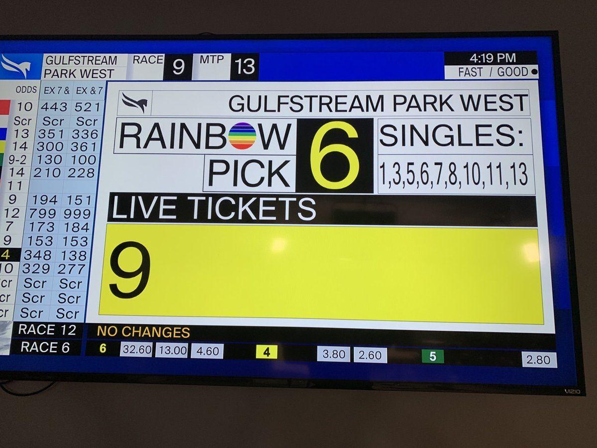 Gulfstream Park West Rainbow 6