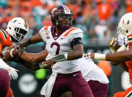 Hendon Hooker has been a revelation as the Hokies' starting quarterback. He's expensive in DFS this week, but Hooker is so involved in this offense he's worth paying up for. (Image: Sports Illustrated)