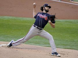 Ian Anderson will take the mound for the Atlanta Braves against the Los Angeles Dodgers in Game 7 of the 2020 NLCS. (Image: Tony Gutierrez/The Saratogian)