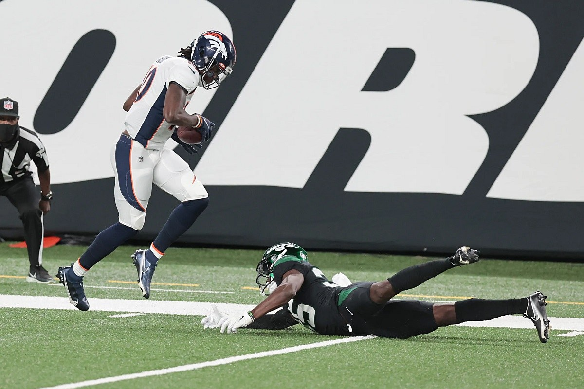 LOL NY Jets Denver Broncos TNF Jerry Jeudy