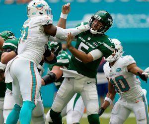New York Jets shutout Miami Dolphins LOL