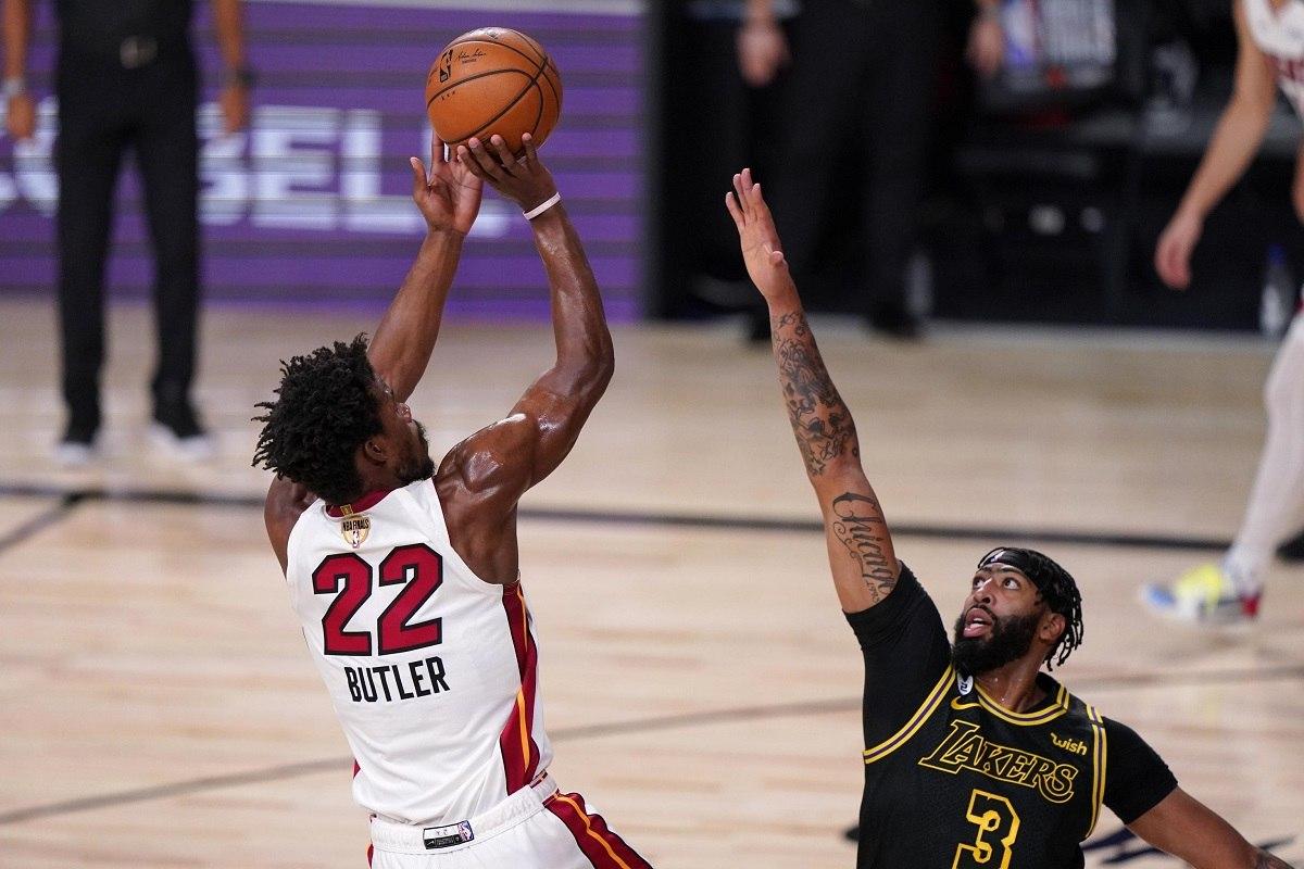 Miami Heat LA Lakers NBA Finals Game 6