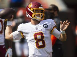 Washington is benching Dwayne Haskins and starting Kyle Allen this week. Yet his DFS salary remains low. (Image: Yahoo)