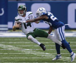 Sam Darnold winless NY Jets 0-16 New York Giants Atlanta Falcons prop bet