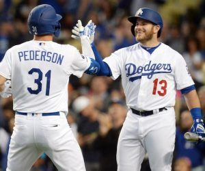 Max Muncy and Joc Pederson
