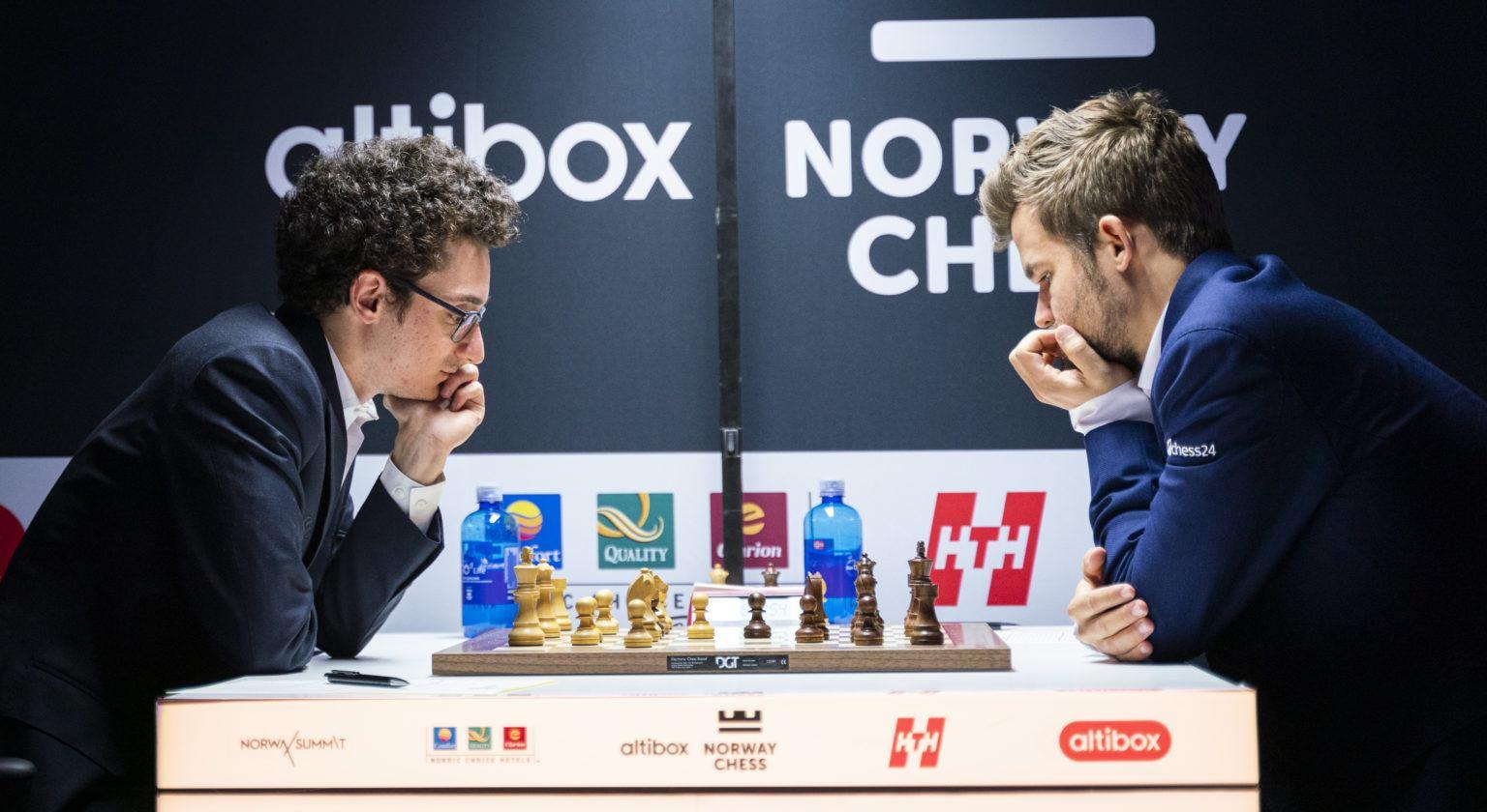 Norway Chess odds Carlsen Caruana