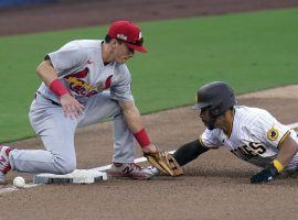 The St. Louis Cardinals can close out the San Diego Padres with a win in Game 2 of their NL wild card series on Thursday. (Image: Gregory Bull/AP)