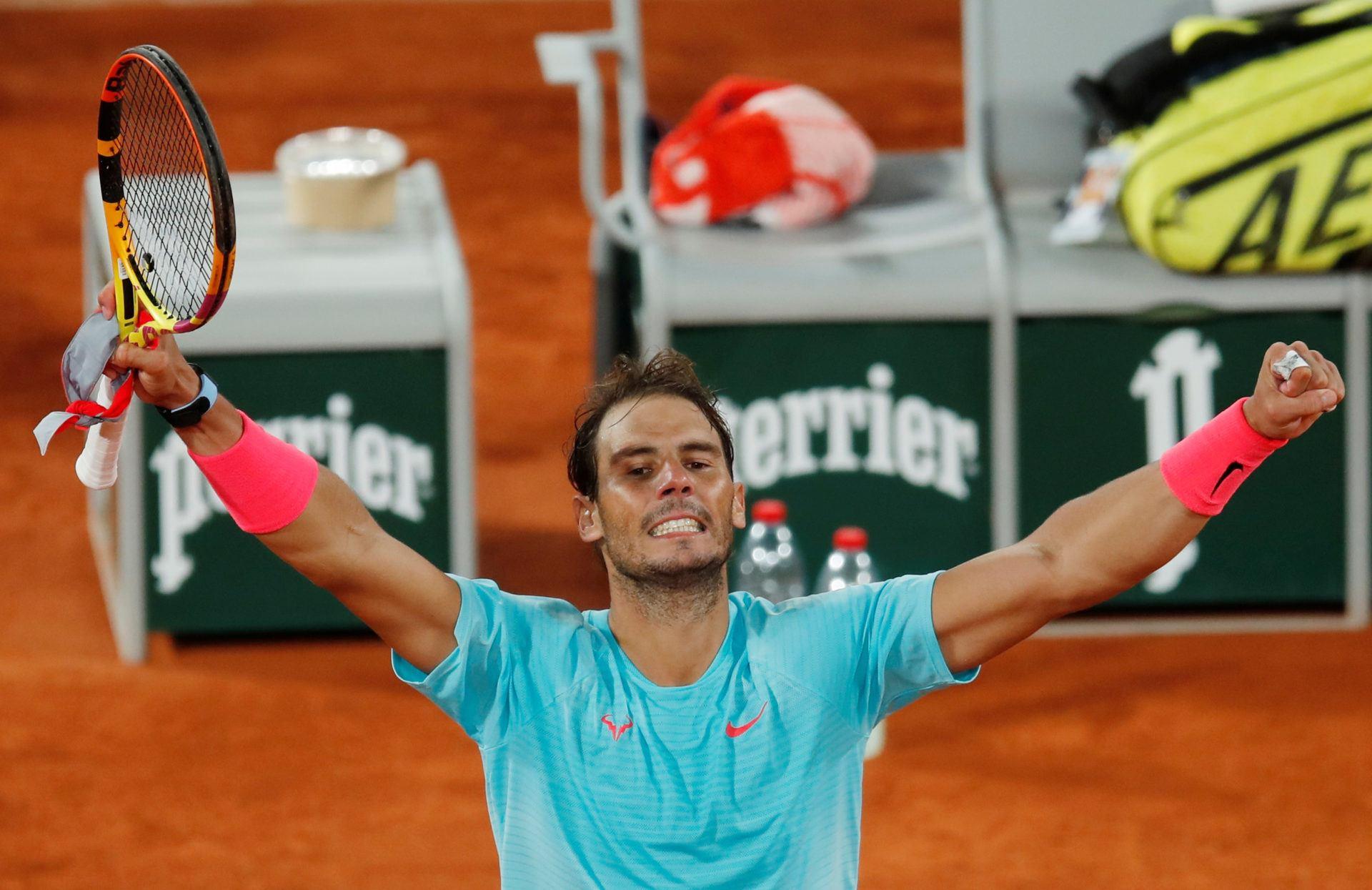 French Open odds Nadal Schwartzman Djokovic Tsitsipas