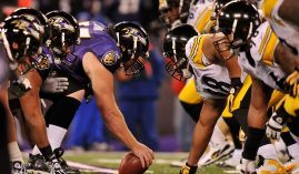 The Baltimore Ravens host the undefeated Pittsburgh Steelers in a fierce AFC North battle in NFL Week 8. (Image: Larry French/Getty)