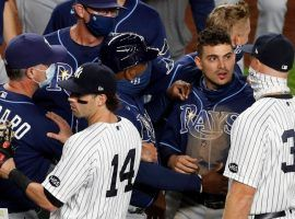 The heated rivalry between the Tampa Bay Rays and New York Yankees will come to a head when the two teams clash in the ALDS. (Image: Jim McIssac/Newsday)