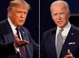 Both President Donald Trump and Democratic challenger Joe Biden offer numerous ways to make money during their third and final debate. Both Ladbrokes and MyBookie offer numerous prop bets on Thursday night's debate. (Image: FoxNews.com)
