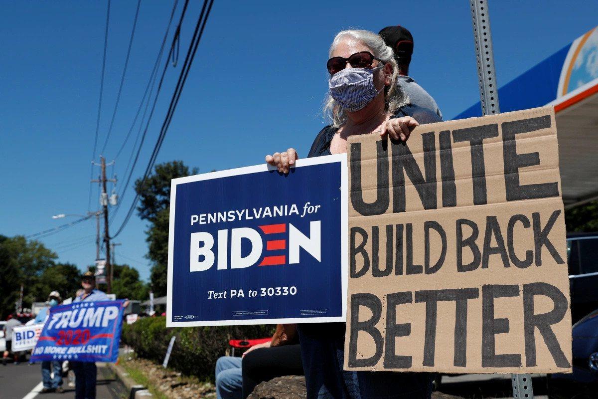 Trump Biden battleground states odds