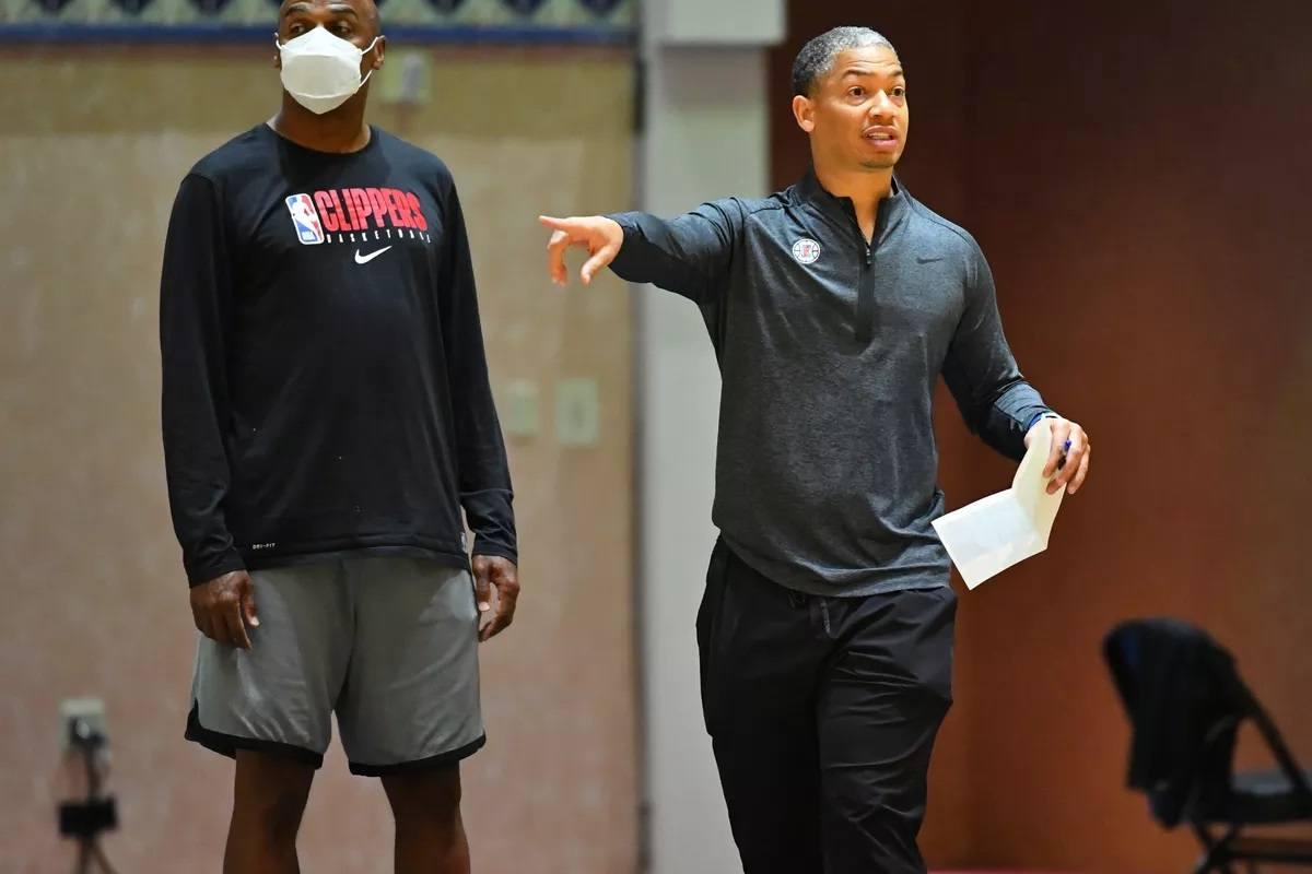 Ty Lue Clippers LA coach