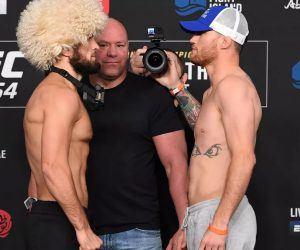 UFC 254 Live Scoring