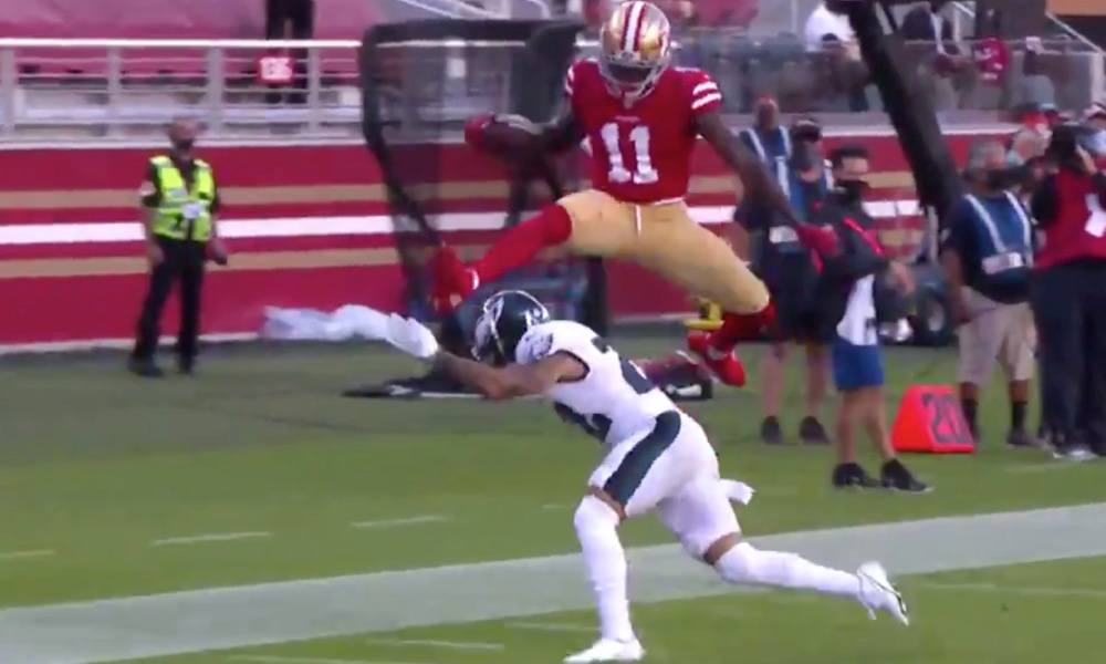 Brandon Aiyuk NFL Week 4 highlights