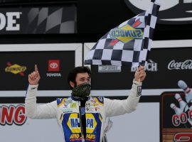 Chase Elliott has had tremendous success at road courses, and is the 7/2 favorite to win the Roval 400 on Sunday at Charlotte Motor Speedway. (Image: AP)