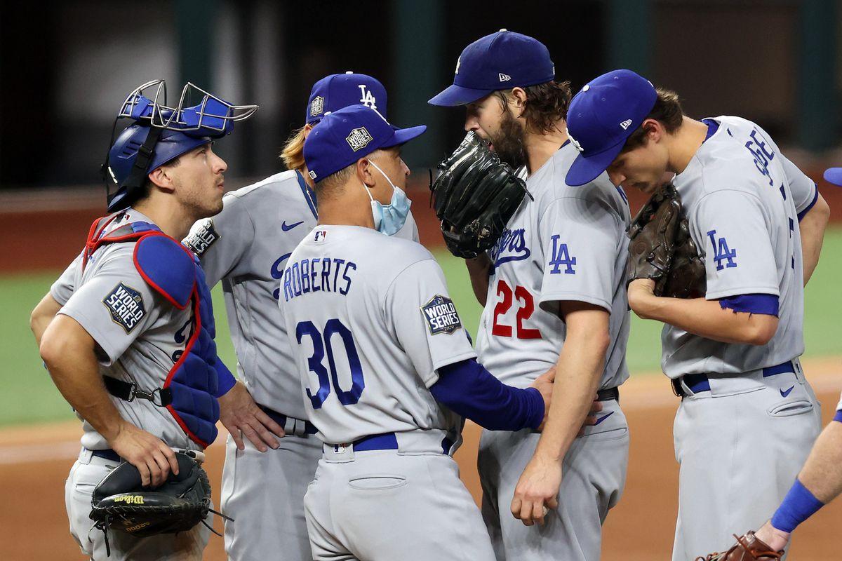 Dodgers Clayton Kershaw Game 5